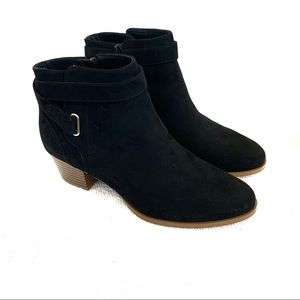Giani Bernini Dorii Suede Memory Foam Booties